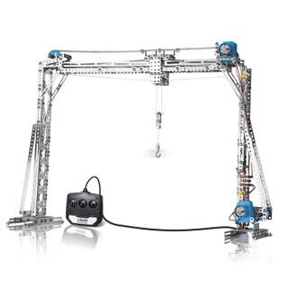 eitech 爱泰 EHC35 儿童拼装模型玩具 电动塔吊