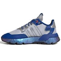Adidas 三叶草 Nite Jogger boost 男士跑鞋 EG3360 蓝 36