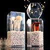 KAMAN 化妆刷收纳桶 四边形刷筒+人鱼珍珠