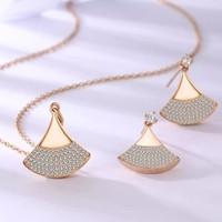 SolaBella 璀璨星扇系列 女士项链/耳环