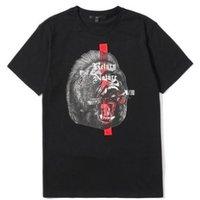 5cm 5厘米 男士纯色图案印花短袖T恤5CXTEA1144U8A 黑色S
