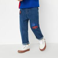 巴拉巴拉 男童 儿童春装长裤牛仔裤洋气潮童男 *3件