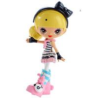 酷酷原宿Q版娃娃穿搭套装 芭比Barbie动漫娃娃款式丰富 单独售卖 - FCN19 *3件