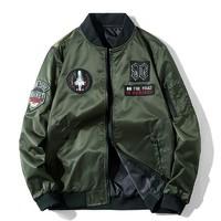 木林森(MULINSEN)户外夹克飞行服两面穿夹克