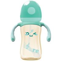 bobo 乐儿宝 IBP1705 PPSU婴儿奶瓶 260ml(蓝色 十字奶嘴)