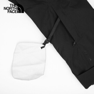 THE NORTH FACE 北面 男士冲锋衣 NF0A3LZL 黑 S