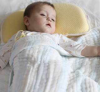 LUSN 如山 CFK003 婴儿定型枕头 芝士黄