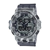 【直营】卡西欧(CASIO)手表 G-SHOCK冰川冰韧系列35周年限量透明运动防水石英表男表