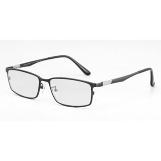 HAN 純鈦近視眼鏡框 42042 +凱米 U6膜層1.60折射率防藍光鏡片