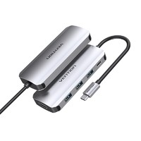 VENTION 威迅 五合一 Type-C扩展坞(USB3.0*3/HDMI/100W PD)