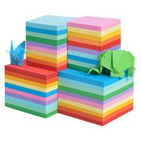 巧冠    儿童彩色手工折纸   100张