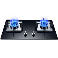 万和 (Vanward)台式燃气灶双灶嵌入式 加厚钢化玻璃 B6-L338XW(液化气)