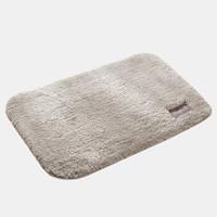 QUATREFOIL地垫玄关门垫厨房浴室吸水防滑垫 40*60cm米色 *4件