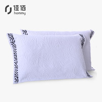 京东PLUS会员 : 佳佰 枕巾两条装 纯棉色织提花 加厚柔软 草原印象 50*80cm 180g/条*2 *3件