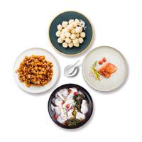 京东PLUS会员 : 福成 鲜到家家宴 4道菜套餐 1130g