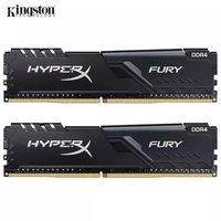 金士顿 骇客神条 Fury系列 DDR4 2666 16GB(8GB×2) 台式机内存条