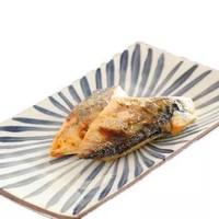 鳗鱼皇后 日式盐烤鲭鱼片240g(80g *3袋 )加热即食 海鲜水产 *8件