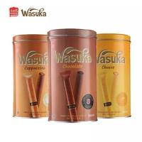 印尼进口蛋卷哇酥咔巧克力爆浆威化卷288gx3罐组合装