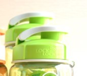 LOCK&LOCK 乐扣乐扣 HPP722TG 塑料运动水杯 700ml 绿色