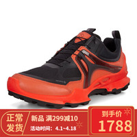 ECCO爱步男鞋2020春夏款 Biom健步男轻跑鞋户外运动鞋803114丹麦专柜直邮 橙色-51900 40
