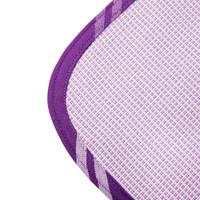 DAPU 大朴 纯棉老粗布凉席三件套 180*230cm 经典加厚款 紫色