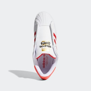 adidas 阿迪达斯 SUPERSTAR LACELESS 男女无鞋带款运动鞋