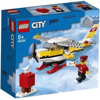 LEGO 乐高 城市组 60250 邮政飞机投递