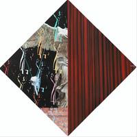 Huang Bingyin 黄丙寅 HuangBingyin黄丙寅 美术馆-半个女神  2017布面油画 150X150CM