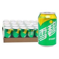 Coca-Cola 可口可乐 雪碧 清爽柠檬味汽水 330ml*24罐
