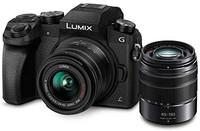 Panasonic 松下 LUMIX G7 4K微单相机 + 14-42mm 45-150mm 双镜头