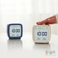 青萍 蓝牙闹钟(16组闹钟 温湿度监测 柔和背光)+凑单品 +凑单品