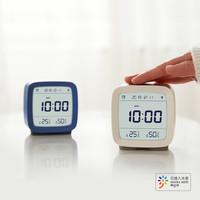 青萍蓝牙闹钟 (16组闹钟 温湿度监测 柔和背光) +凑单品