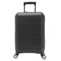 SWIZA百年瑞士刀行李箱商务静音密码箱万向轮旅行箱男大容量TSA密码锁拉杆箱 洛桑系列 黑色 22英寸