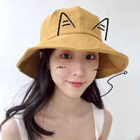 麦子地 MZD20180518-6 女士防晒渔夫帽