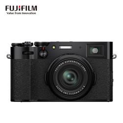 富士(FUJIFILM)X100V 数码相机 旁轴 2610万像素 人文扫街 黑色
