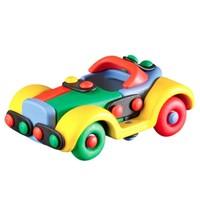 micomic 米扣 儿童益智玩具 积木模型 小轿车款