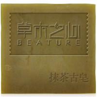 草木之心 龙井抹茶洗脸皂 120g