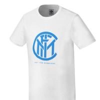 inter 国际米兰 男士印花全棉运动T恤