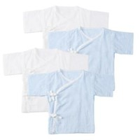 PurCotton 全棉时代 婴儿纯棉纱布连体哈衣