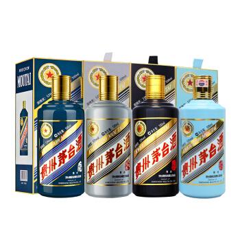 茅台 生肖 鸡狗猪鼠 酱香型白酒 53度 500ml*4组合装