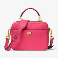 Michael Kors 迈克高仕 Mott Mini 女士单肩斜挎包 32T8GF5C0L 多色可选  653 Rose Pink