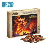 BLIZZARD 暴雪 魔兽世界 十五周年 拉格纳罗斯 1000片拼图