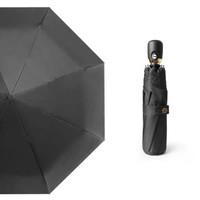 新款马卡龙配色全自动黑胶晴雨伞