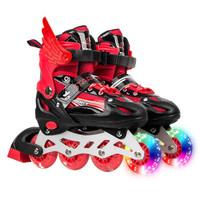 溜冰鞋男女 儿童旱冰鞋8轮轮滑鞋滑冰鞋