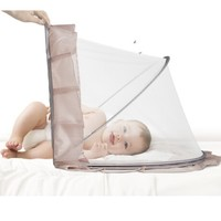 BabyCare 儿童可折叠全罩式小床蚊帐 118*63*65cm