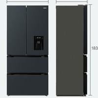 QCOOKER 圈厨 BCD-445WS4 法式四门冰箱 445L