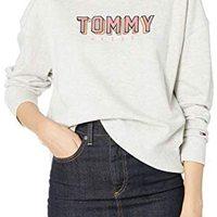 Tommy Hilfiger 女士漫画文字运动衫