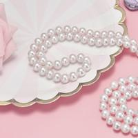 京润珍珠 芳华 白色淡水珍珠项链
