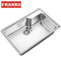 弗兰卡(Franke)304DDQ不锈钢拉伸水槽 74*48cm BCX610-7401A