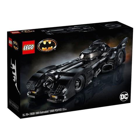 LEGO 乐高 超级英雄系列 76139 1989Batmobile 蝙蝠战车
